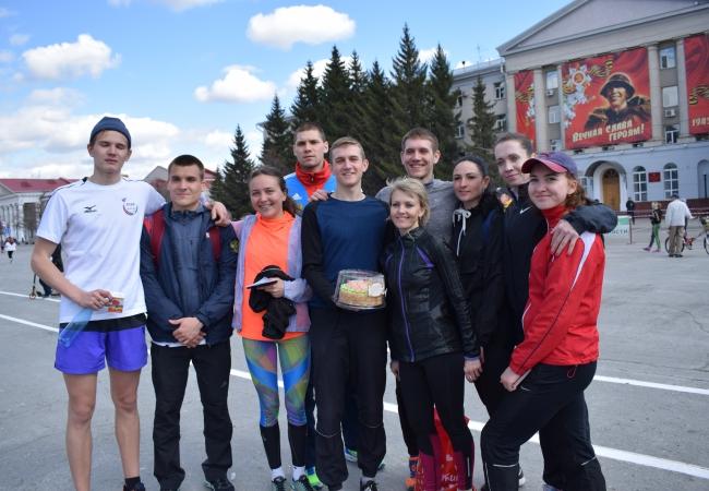 Успешное выступление команды Кетовского района в легкоатлетической эстафете на  призы газеты  «Новый мир»