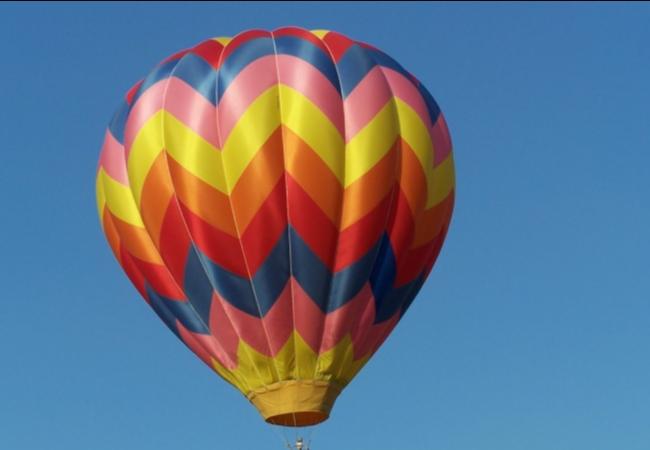 Еще не летали на воздушном шаре? Пора!