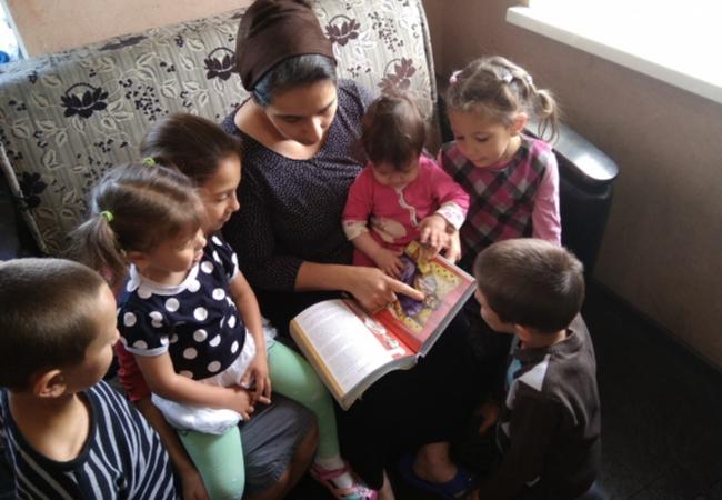 Семейное чтение. Взгляд ребёнка.