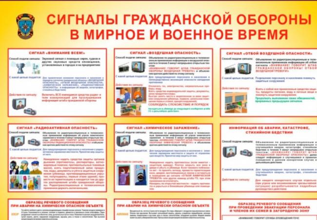 С начала октября в Российской Федерации стартует месячник по гражданской обороне