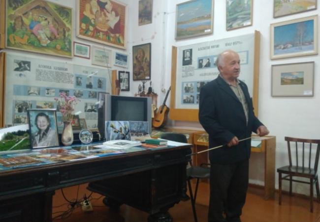 10 октября ветераны труда Кетовского района посетили литературно-краеведческий  музей имени Кюхельбекера В.К. в с.Каширино.