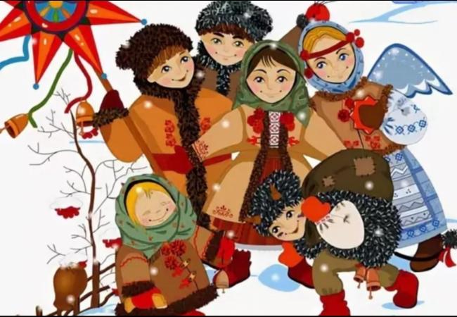 Курганцев и гостей города приглашают на Святочные гуляния с русскими народными забавами, колядками, выступлениями артистов и лазерным шоу
