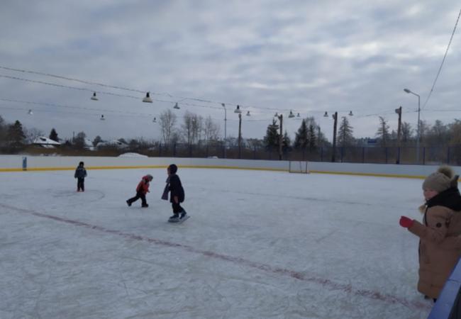 В конце 2019 года сдан в эксплуатацию хоккейный корт в с. Садовое