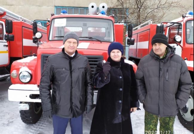 Спецтехника для муниципальных постов пожарной охраны