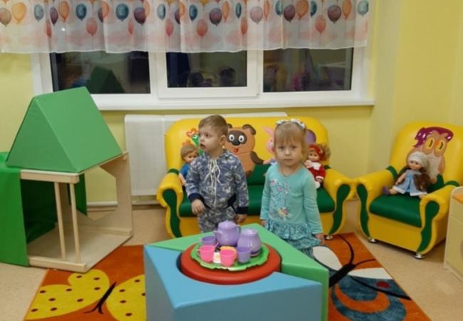 Сегодня впервые переступили порог нового детского сада в с. Кетово ,,Светлячок'' наши ребятишки