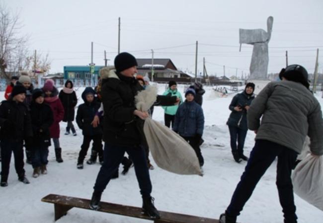 «Масленица хороша – широка её душа» - под таким названием прошёл фольклорный праздник в селе Марково.