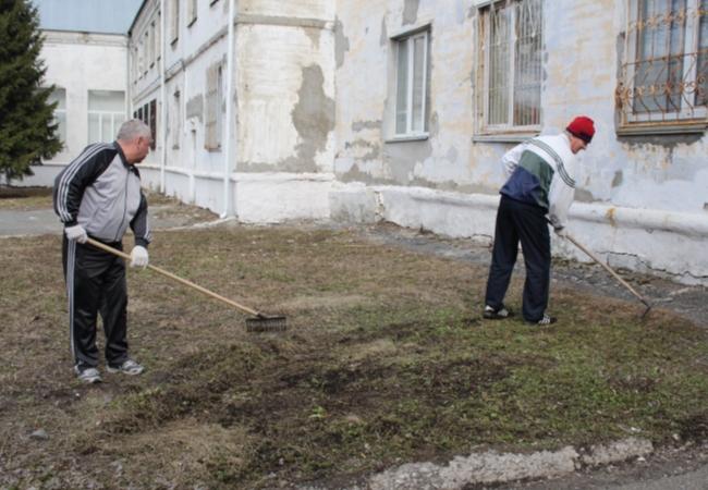 Субботник Администрации Кетовского района 03.04.2020 г.