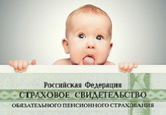 СНИЛС для новорожденных