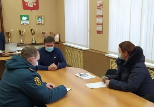 Продолжаем обследование домовладений на территории Кетовского района с целью соблюдения мер пожарной безопасости