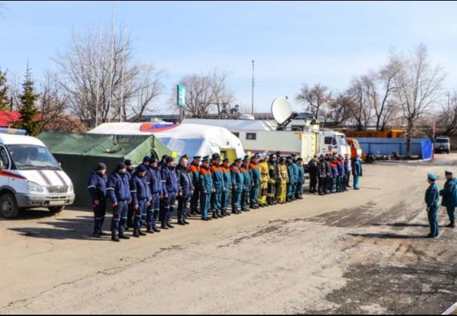 14 апреля – второй день Всероссийского командно-штабного учения