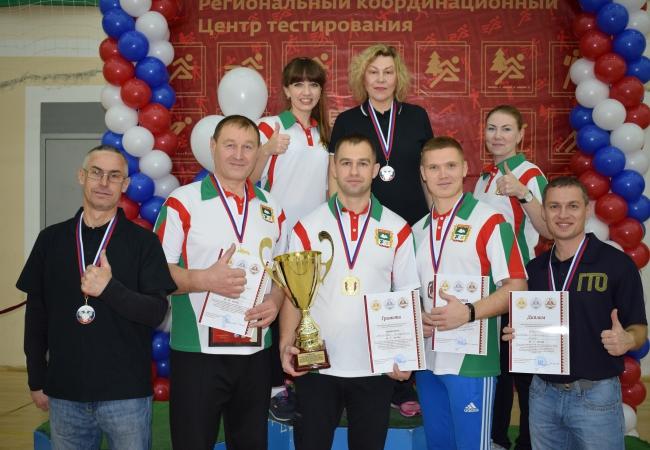 Кетовская Администрация показала высокий уровень спортивной подготовки