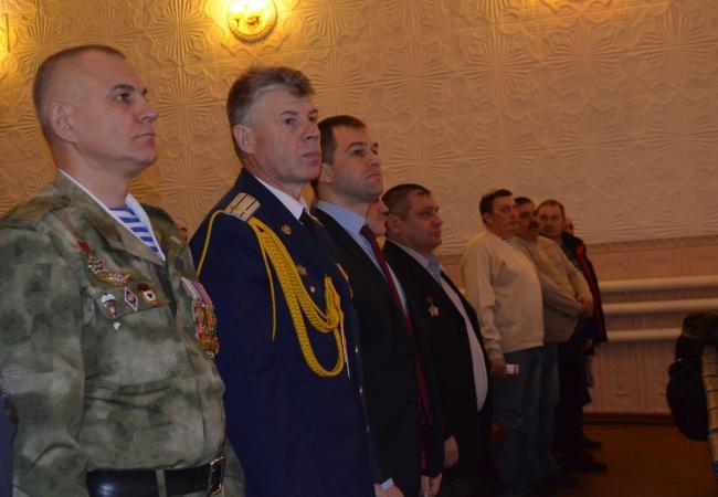 Ветеранам Афганистана вручены памятные медали