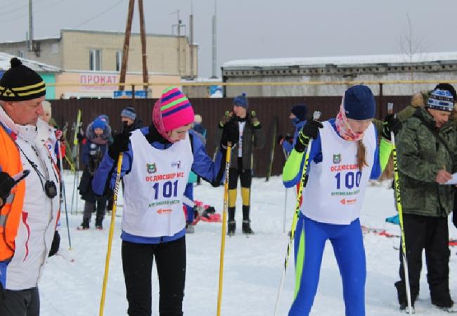 26 февраля в м-не КГСХА прошли соревнования по лыжным гонкам в зачет районной Спартакиады учащихся Кетовского района 2018-2019 года