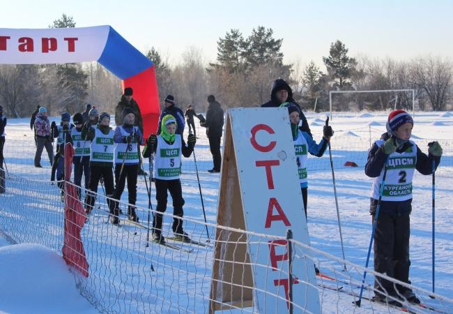 Cоревнования по лыжным гонкам